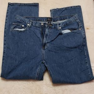 2/$15 G.H. Bass & Co. Relaxed Blue Jeans 38x30